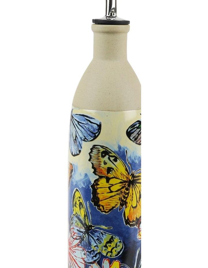 Bromley Oil Bottle - Butterflies Dip Painted 3 image 2