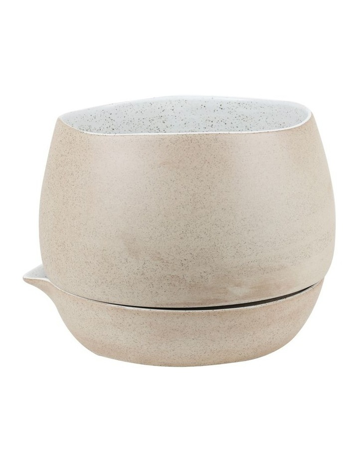 Garden To Table Self Watering Planter - White Speckle image 1