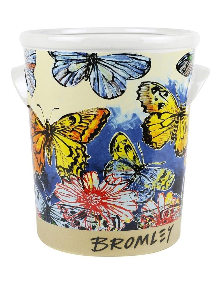 Bromley Ice Bucket - Butterflies Dip Painted 3 image 1