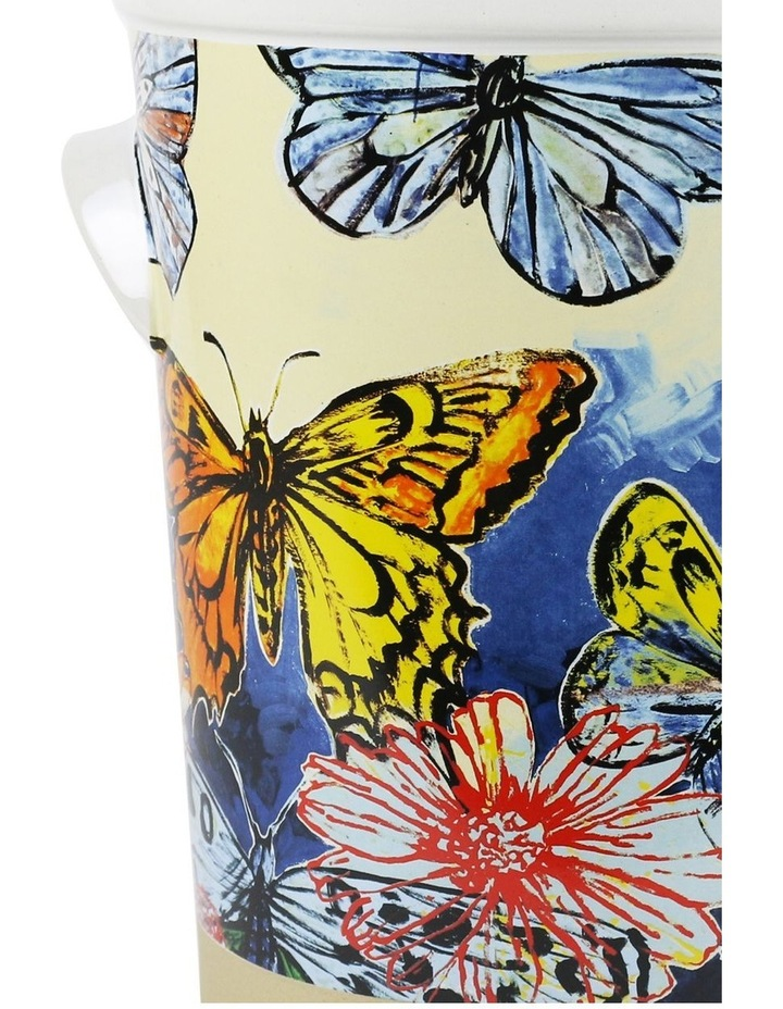 Bromley Ice Bucket - Butterflies Dip Painted 3 image 2