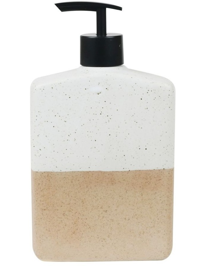 Flask Lotion Bottle - 500ml Granite Half Dipped image 1