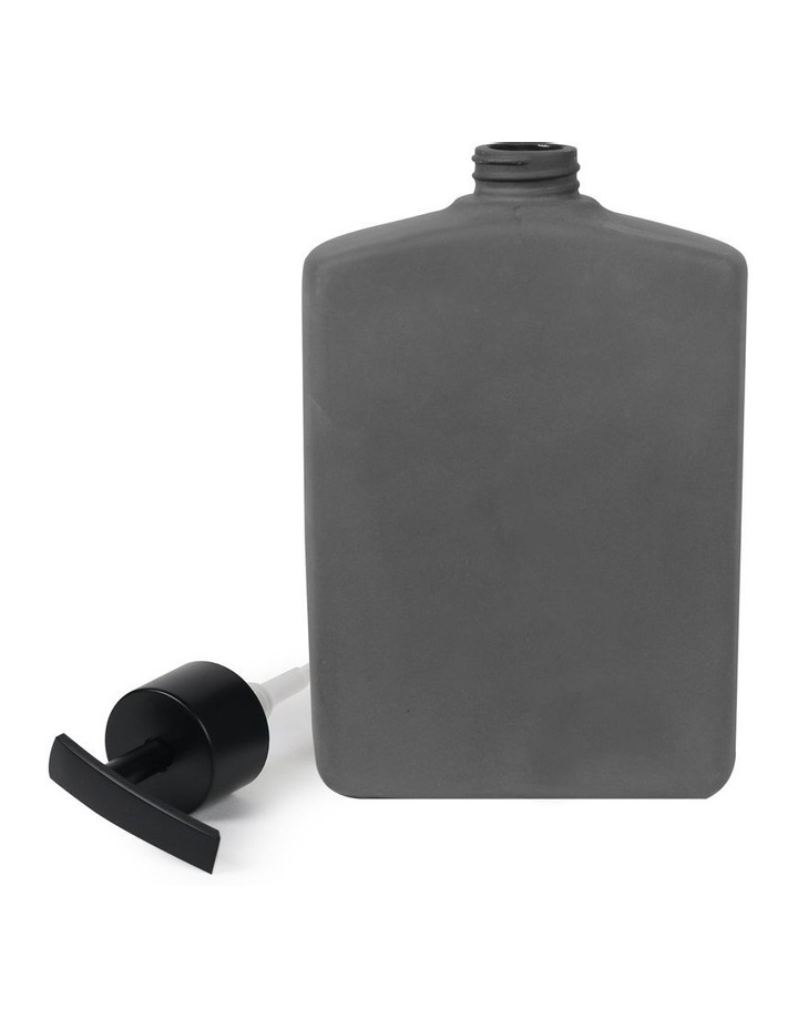 Flask Lotion Bottle - 500ml Black image 2