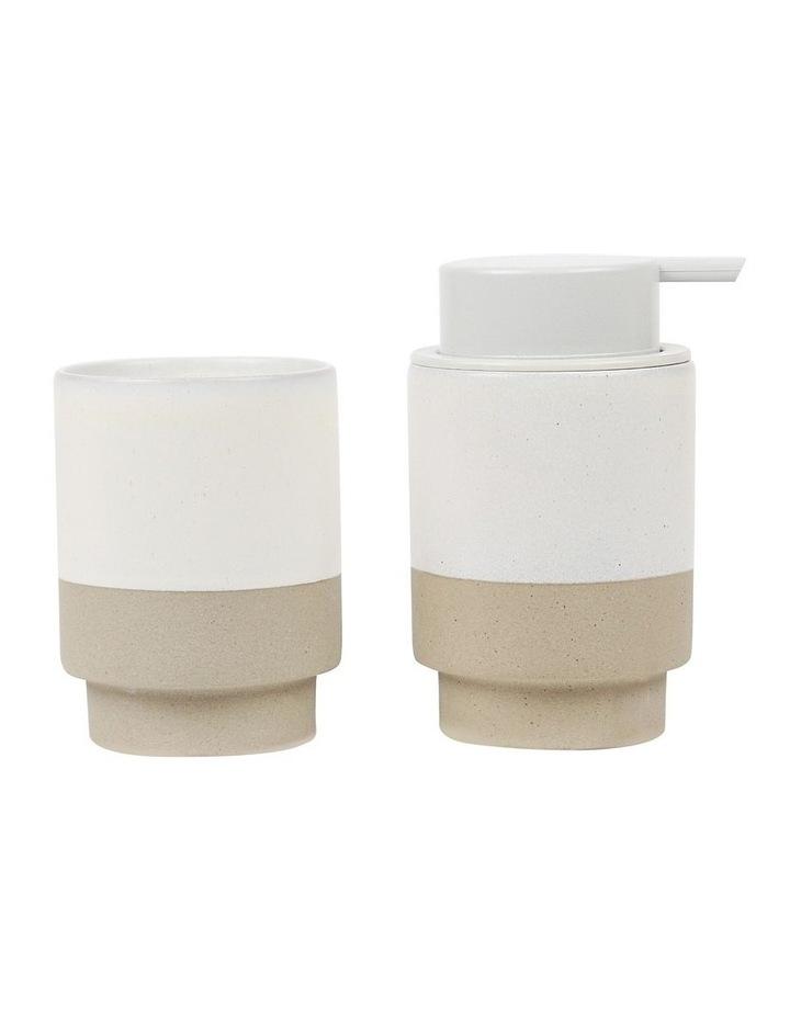 Wellness Soap & Tumbler White image 1