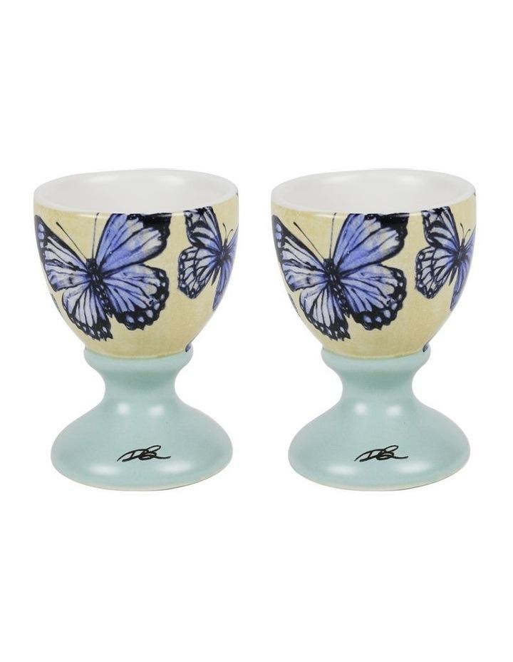 Robert Gordon x Bromley Egg Cup Set Of 2 Bromley Butterflies image 1