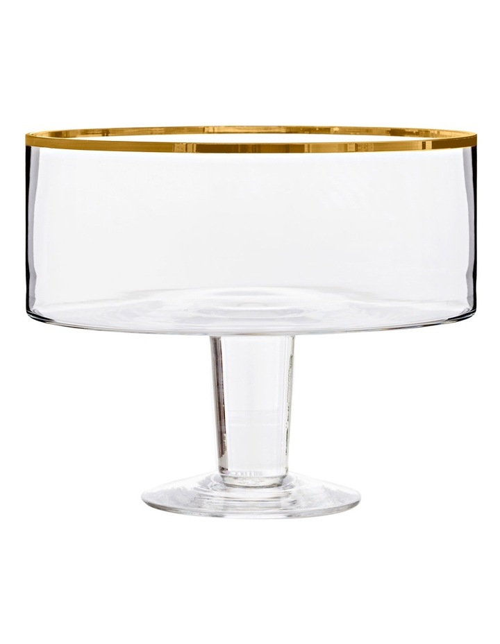 Valencia Trifle Bowl - Gold image 1
