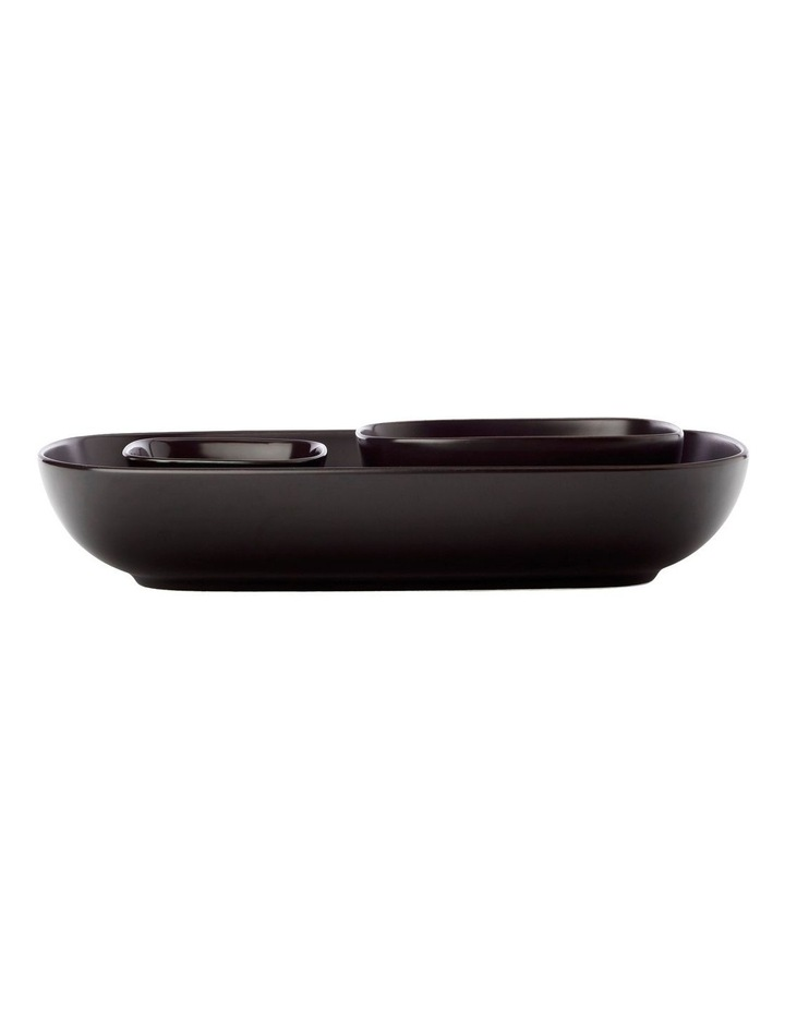 Forma Rectangle Bowls And Square Bowl Set Black Gift Boxed image 1