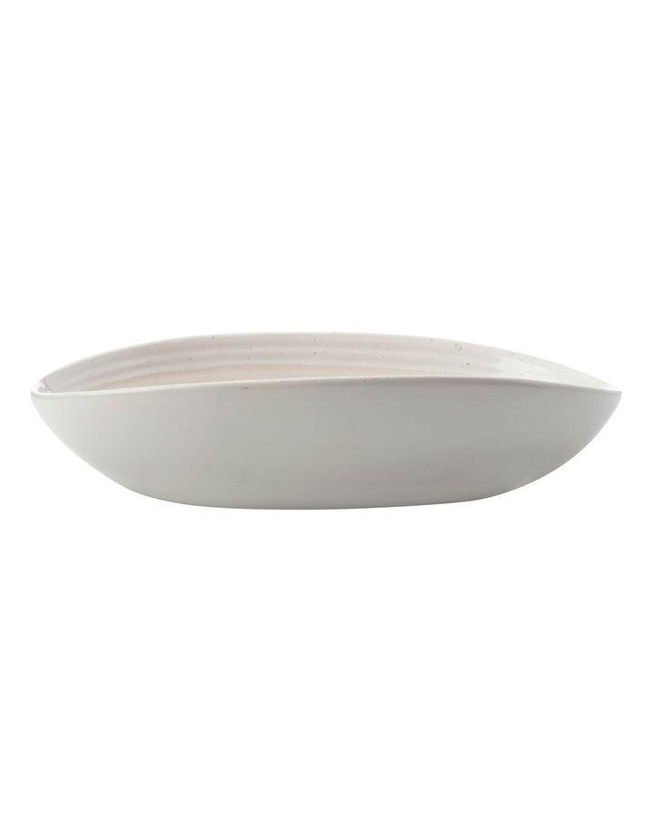 Vanilla Pod Oval Bowl 25x17cm image 1