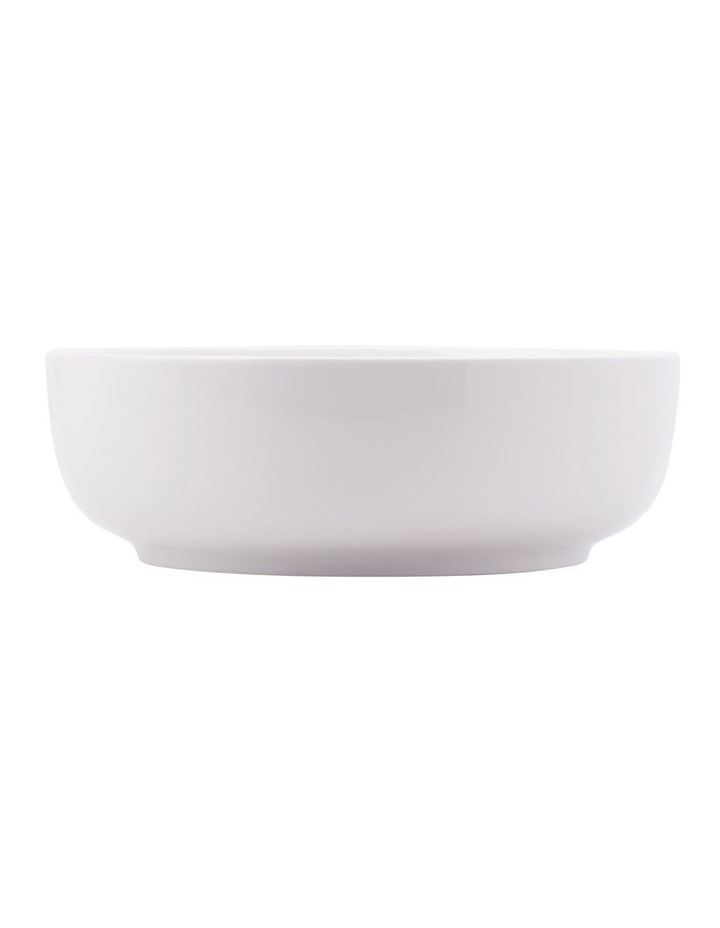 White Basics Contemporary Serving Bowl 25x8cm Gift Boxed image 1