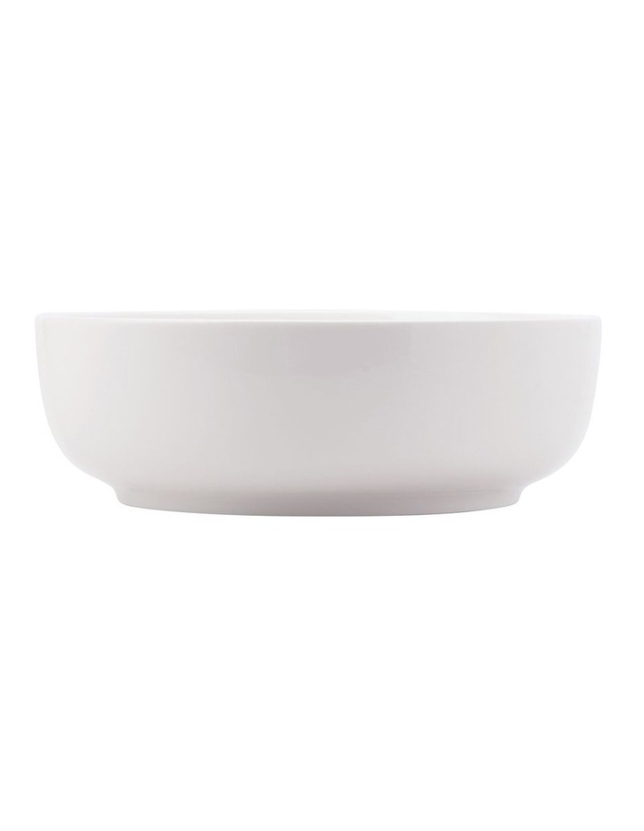 White Basics Contemporary Serving Bowl 30x9.5cm Gift Boxed image 1