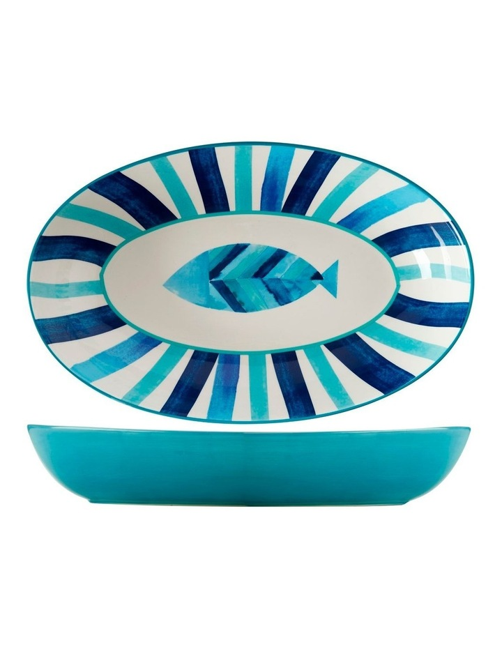 Reef Oval Serving Bowl 42x26cm Gift Boxed image 1