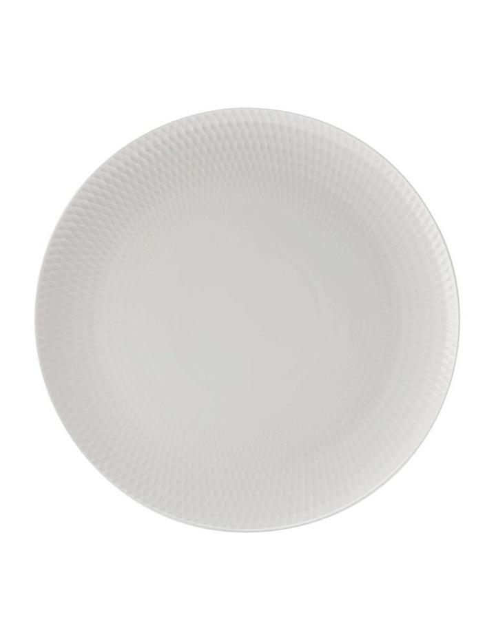 White Basics Diamonds 36cm Gift Boxed Round Platter image 1