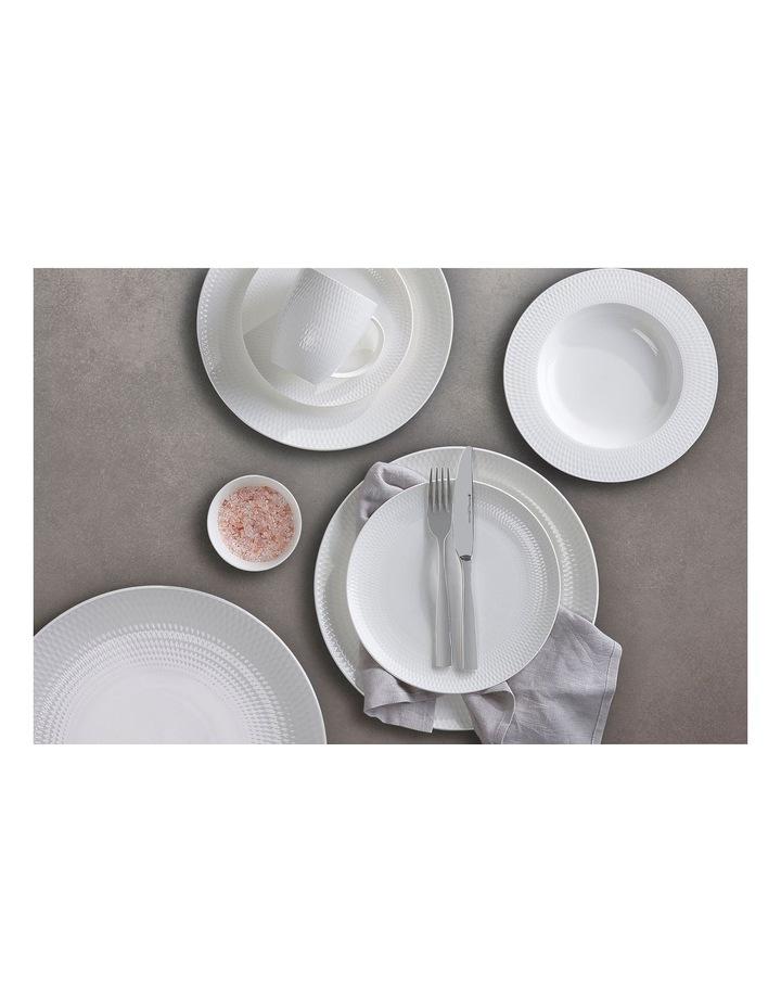 White Basics Diamonds 36cm Gift Boxed Round Platter image 2