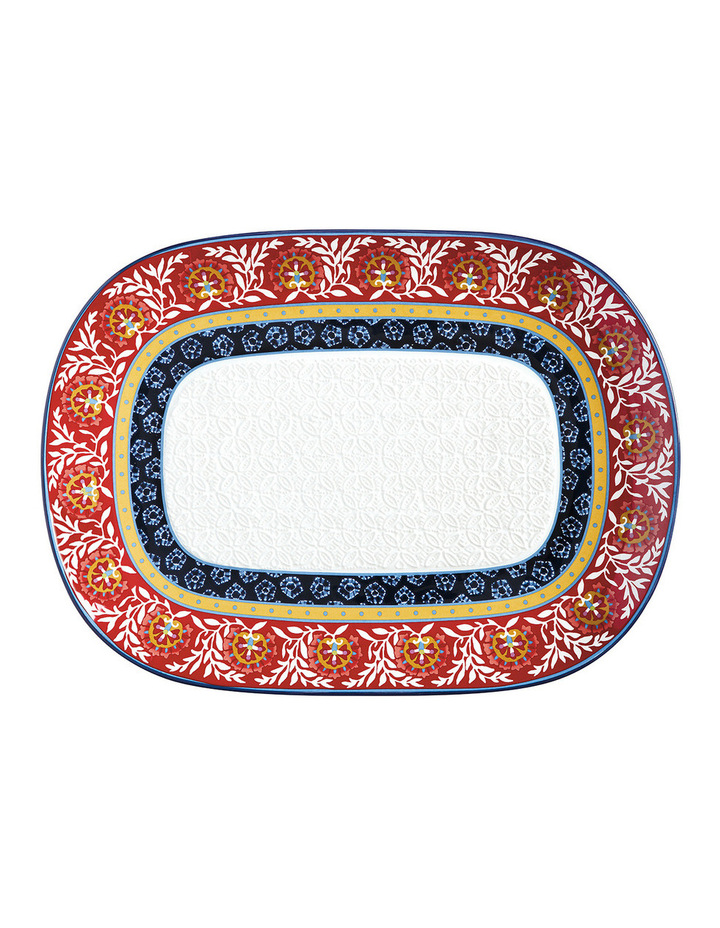 Boho Oblong Platter 45x33cm - Gift Boxed image 1