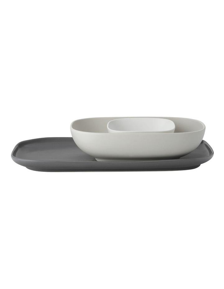 Elemental Rectangle Platter And 2 Bowl Set Gift Boxed image 1