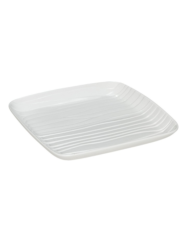 Groove Square Platter White Medium 30cm image 1