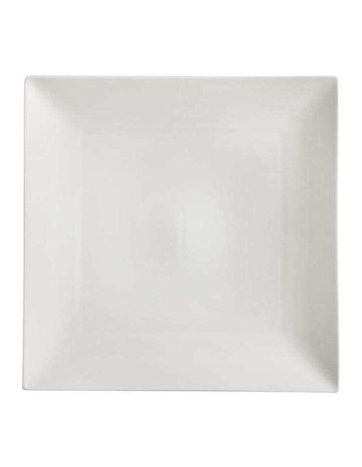 White Basics Linear Square Platter 35cm Gift Boxed image 1