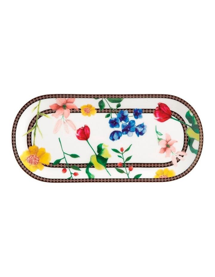 Teas & C's Contessa Oblong Platter 25x11.5cm White Gift Boxed image 1