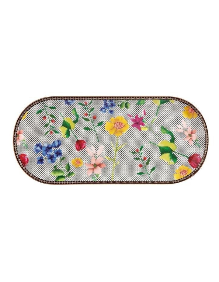 Teas & C's Contessa Oblong Platter 33x15cm White Gift Boxed image 1