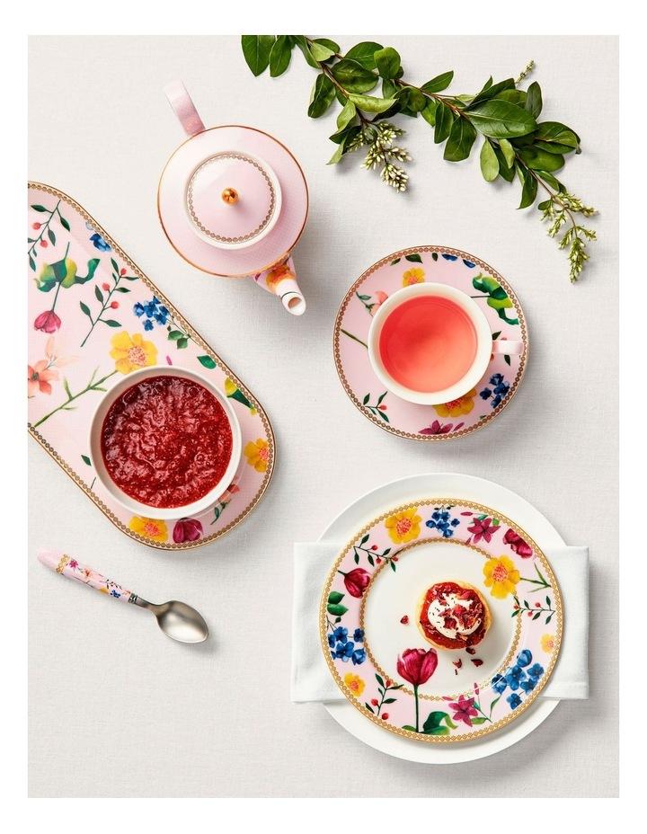 Teas & C's Contessa Oblong Platter 33x15cm Rose Gift Boxed image 2