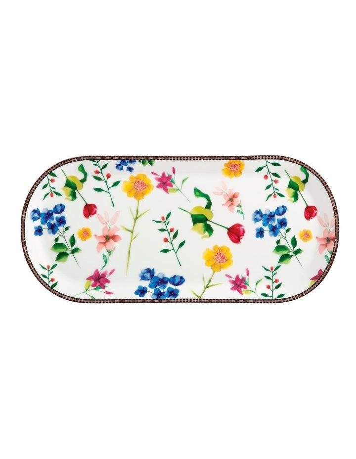 Teas & C's Contessa Oblong Platter 42x19.5cm White Gift Boxed image 1
