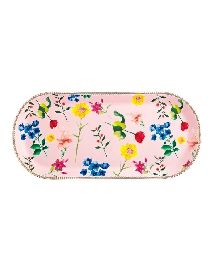 Teas & C's Contessa Oblong Platter 42x19.5cm Rose Gift Boxed image 1