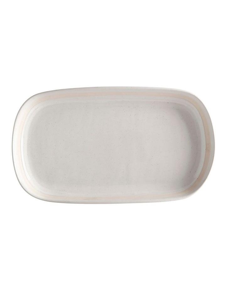 Vanilla Pod Oblong Platter 34x19cm image 1