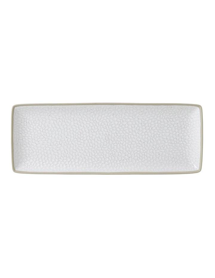 Maze Grill White Serving Platter 40cm image 1