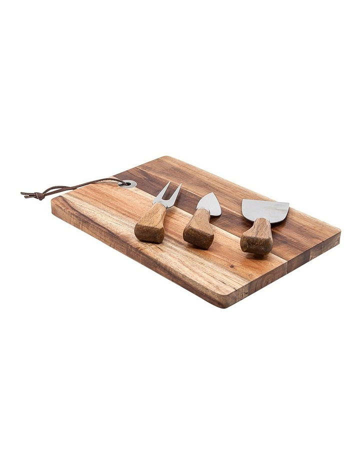 Epicure Cheese Board Set - 4pc image 1