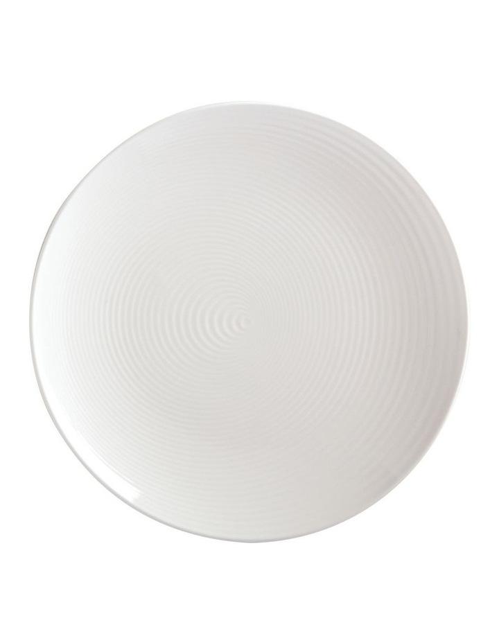 Swirl Round Platter 32cm White Gift Boxed image 1