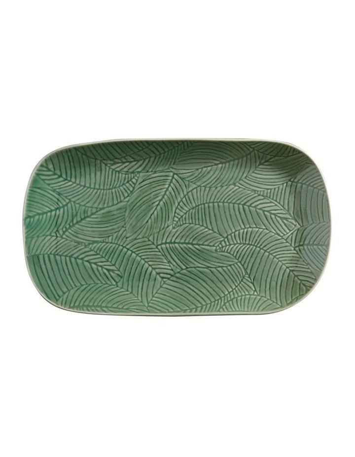 Panama Oblong Platter 34x19cm Kiwi Gift Boxed image 1