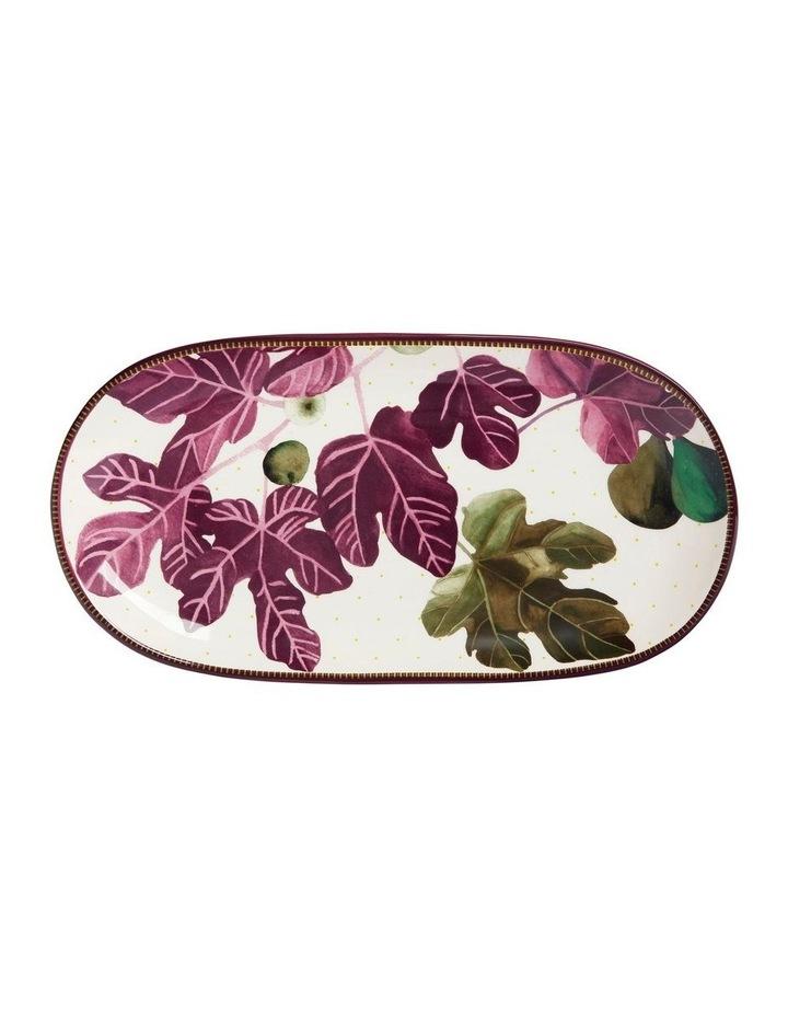 Fig Garden Oblong Platter 33cm Gift Boxed image 1