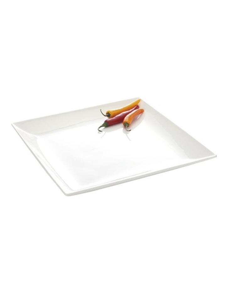 White Basics Soho' Square Platter  Available in 2 Sizes image 1