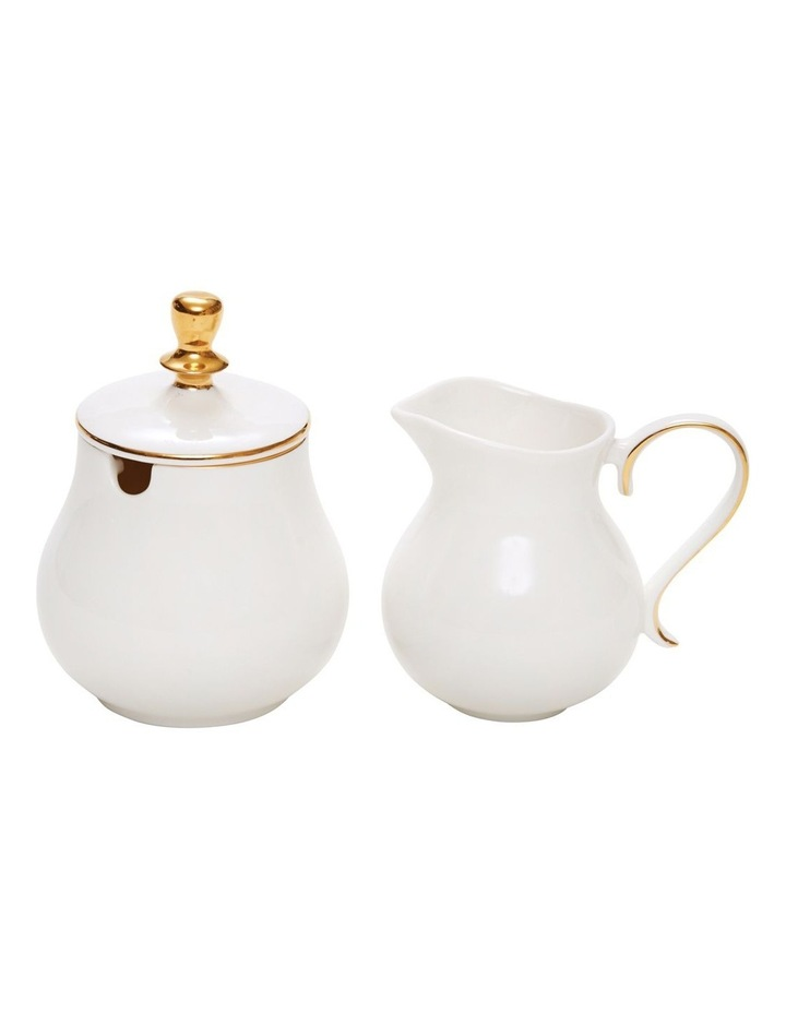 Eclectic Sugar Bowl And Creamer Set image 1