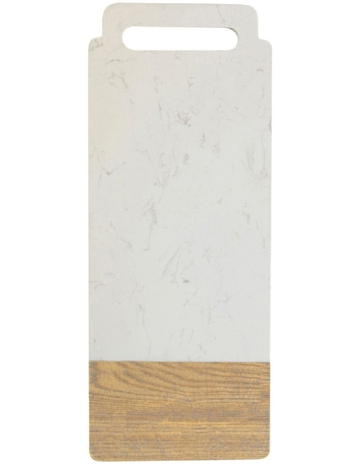 Elemental Marble/Ash Board Handle 50x20cm image 1