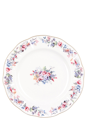 Ashdene - Round Plate - Charlotte Collection