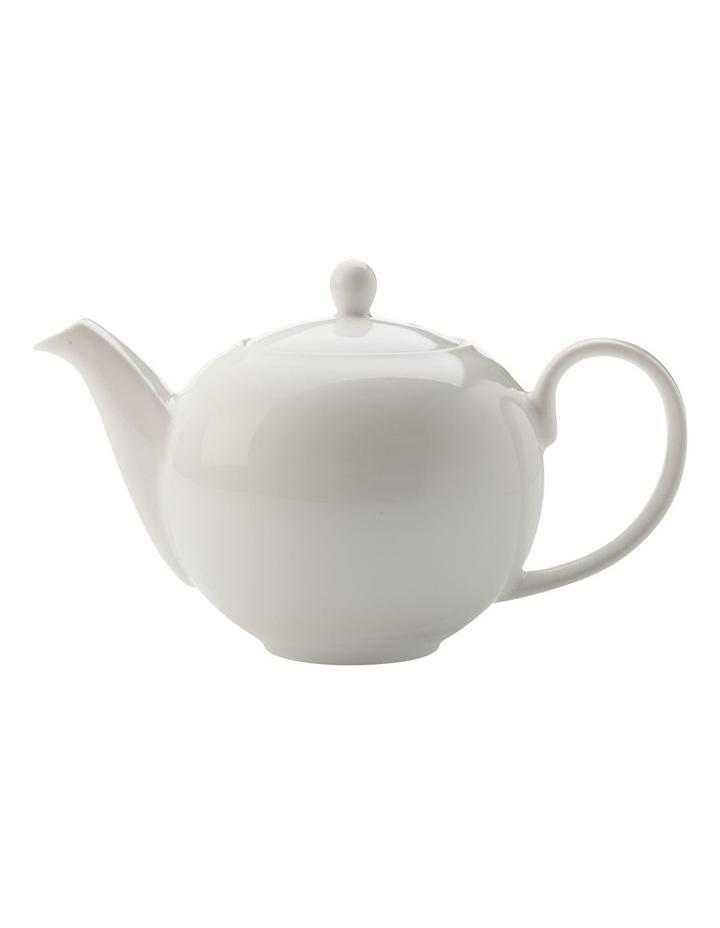 White Basics Teapot 1L Gift Boxed image 1