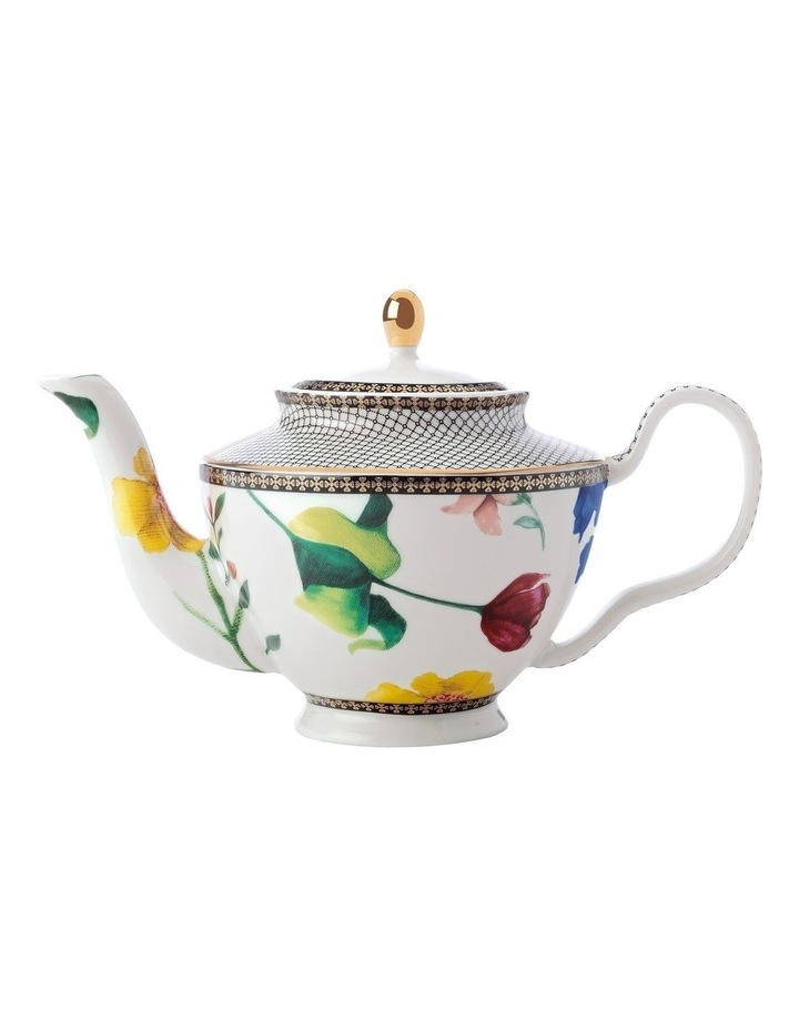 Teas & C's Contessa Teapot with Infuser 500ML White Gift Boxed image 1