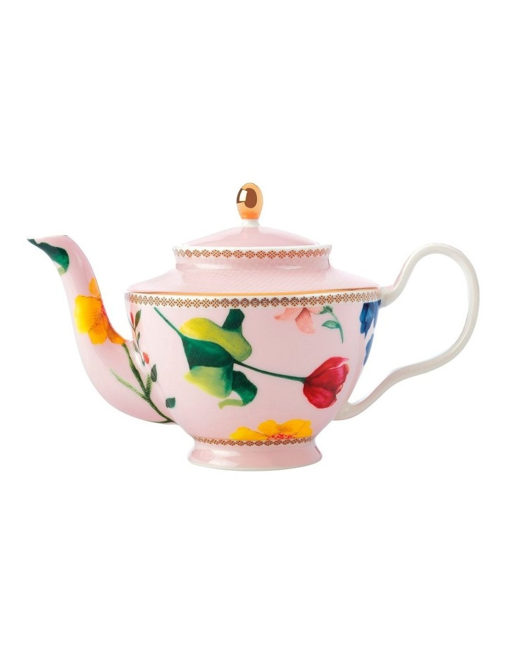 Teas & C's Contessa Teapot with Infuser 500ML Rose Gift Boxed image 1
