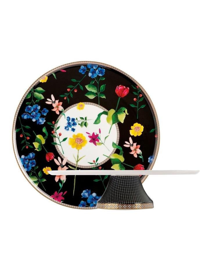 Teas & C's Contessa Footed Ckstd 30cm Black Gift Boxed image 1