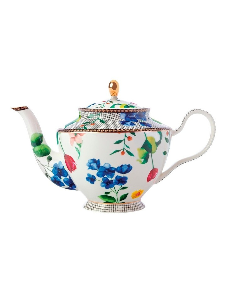 Teas & C's Contessa Teapot with Infuser 1L White Gift Boxed image 1