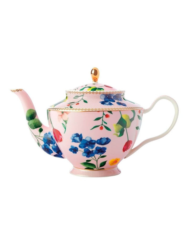 Teas & C's Contessa Teapot with Infuser 1L Rose Gift Boxed image 1