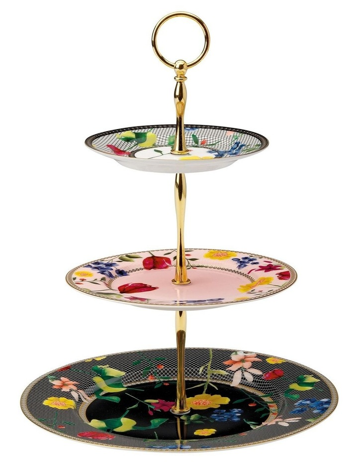 Teas & C's Contessa 3 Tiered Cake Stand Gift Boxed image 1