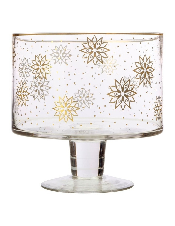 Starry Night Trifle Bowl Gold Gift Boxed image 1