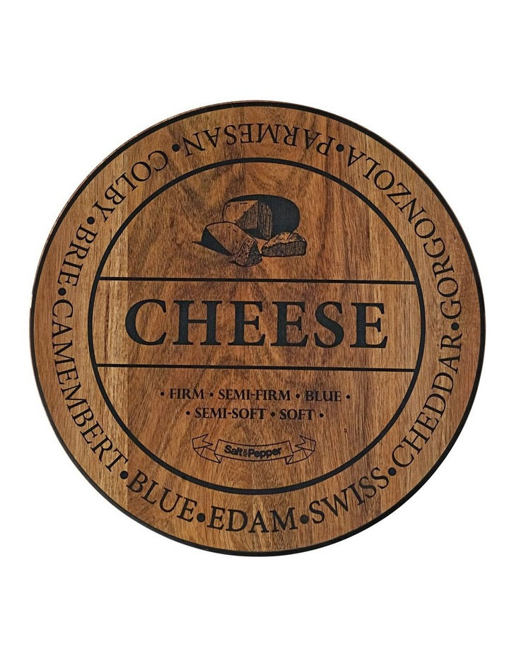 Fromage Board - Round - 40Cm image 1