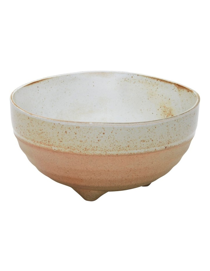NOMAD Footed Bowl - 14cm - White image 1