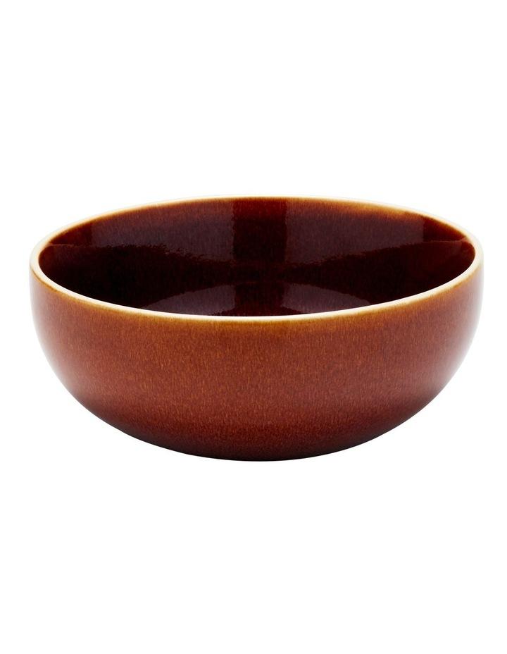 TOYKO Bowl 15 x 6cm - Set of 2 - Cream & Amber image 3