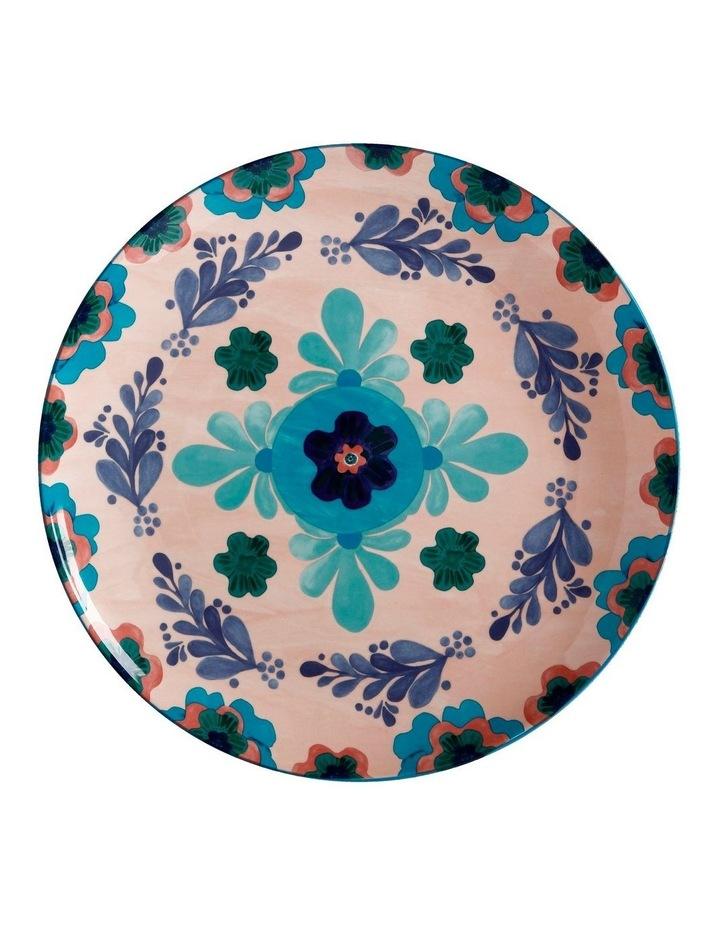 Majolica Round Platter 36.5cm Peach Gift Boxed image 1