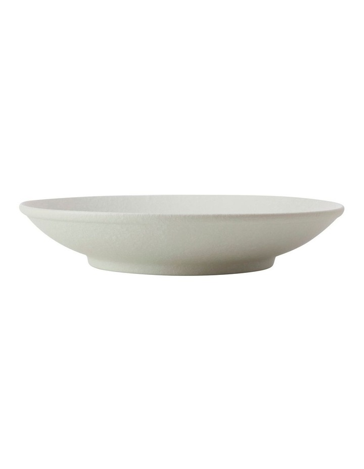 Caviar Footed Bowl 25cm White image 1