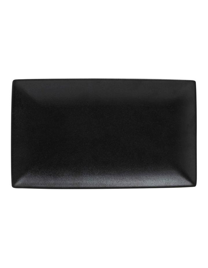 Caviar Rect Platter 27.5x16cm Black image 1