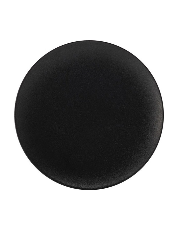Caviar Round Platter  40cm - Black image 1